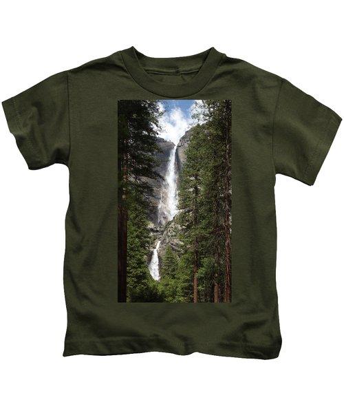 Yosemite Falls Kids T-Shirt