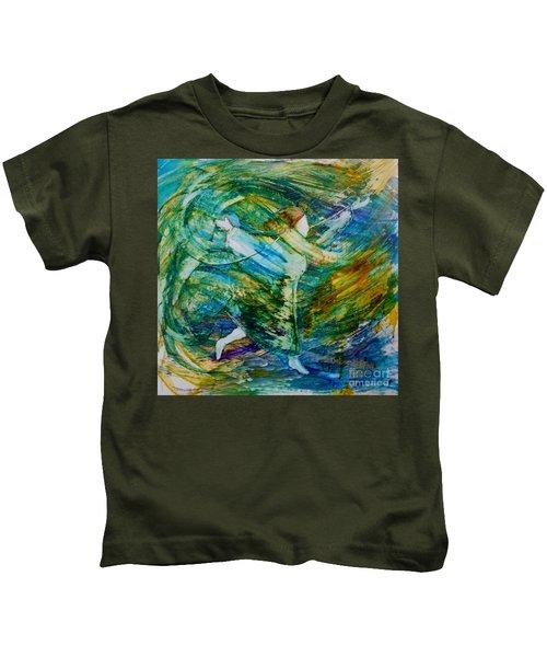 You Make Me Brave Kids T-Shirt