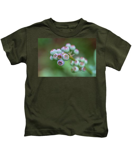 Young Blueberries Kids T-Shirt