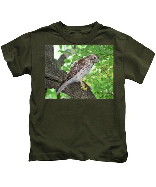Young Red Shouldered Kids T-Shirt