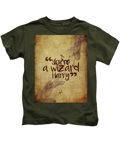 You're A Wizard Harry Kids T-Shirt