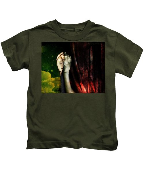 You...with The Clouds In Your Eyes Kids T-Shirt