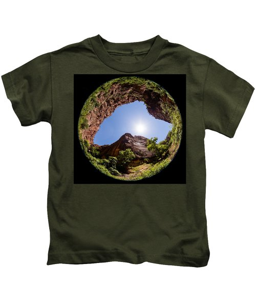 Zion Fisheye 1464 Kids T-Shirt