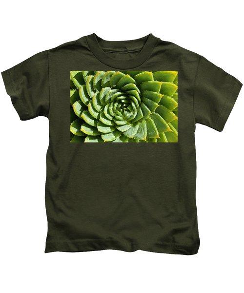 Aloe_polyphylla_8536.psd Kids T-Shirt