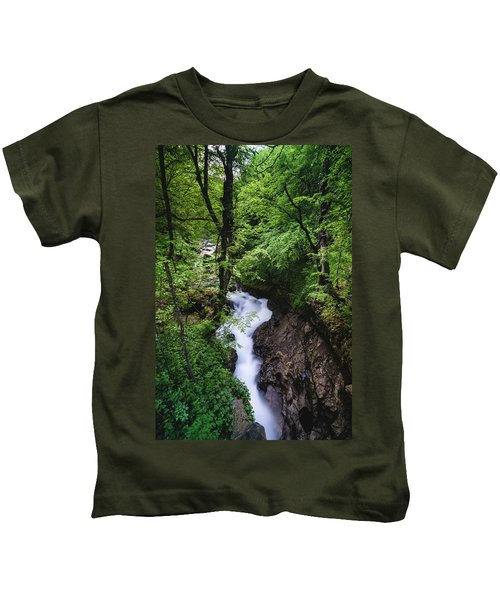 Bela River, Balkan Mountain Kids T-Shirt