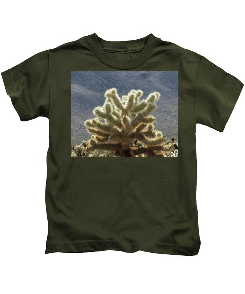 Cholla Cactus Kids T-Shirt