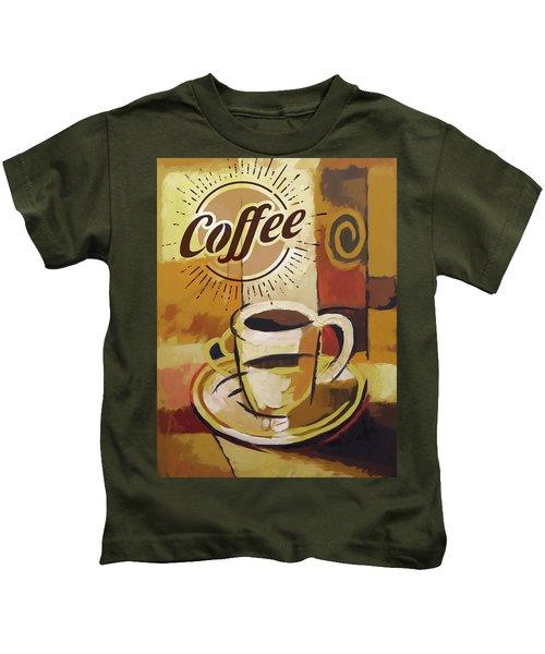Coffee Poster Kids T-Shirt