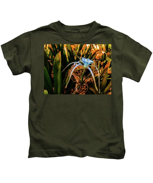 Flower With Tentacles Kids T-Shirt