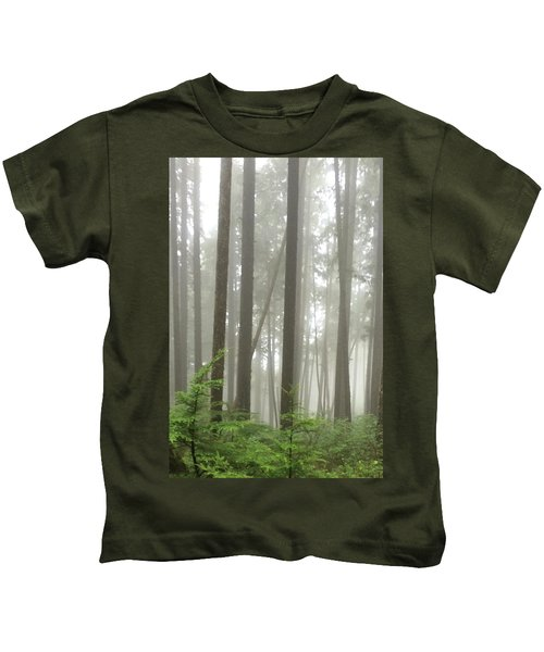 Foggy Forest Kids T-Shirt