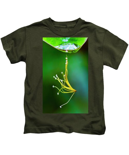 Hanging By A Thread Kids T-Shirt