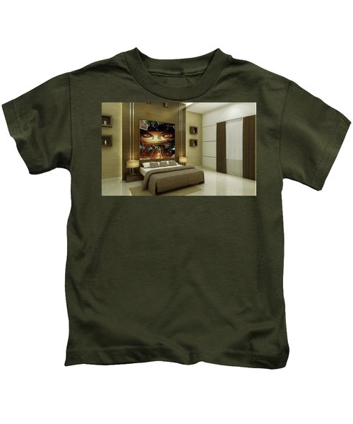Just A Split Second Kids T-Shirt