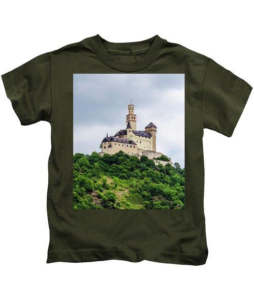 Marksburg Castle - 2 Kids T-Shirt