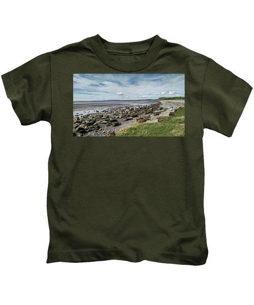 Morecambe. Hest Bank. The Shoreline. Kids T-Shirt