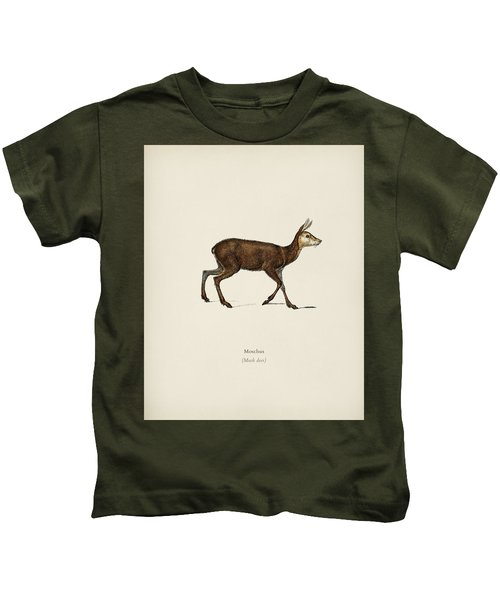 Moschus Illustrated By Charles Dessalines D  Orbigny  1806 1876  Kids T-Shirt