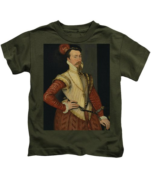 Robert Dudley, 1st Earl Of Leicester Kids T-Shirt
