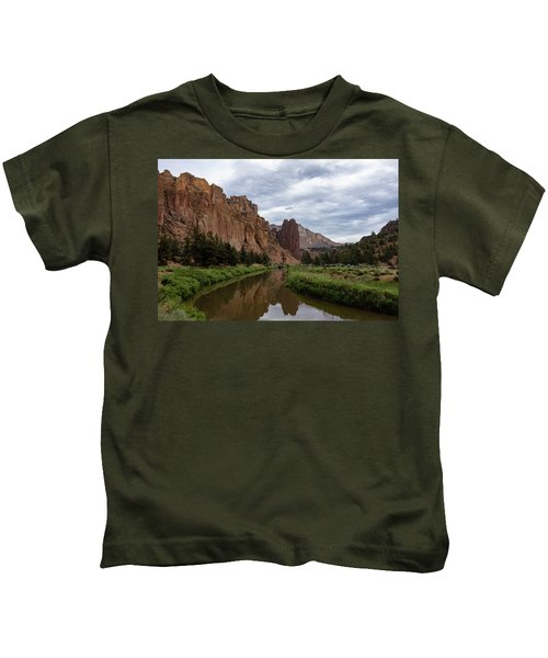Smith Rock Reflections Kids T-Shirt