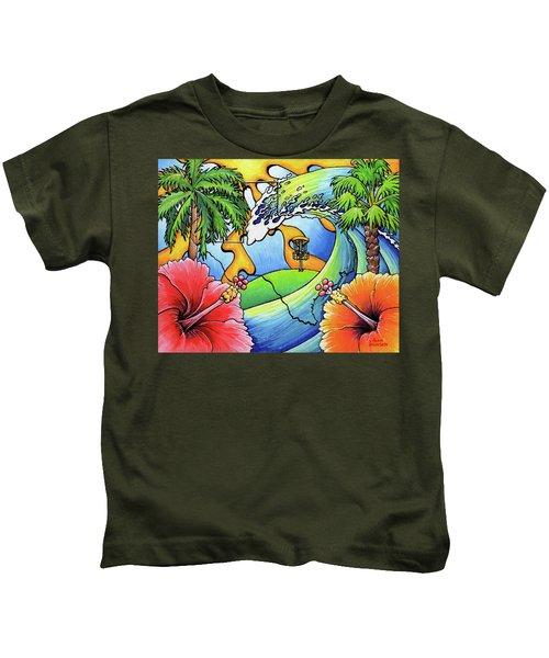 South Texas Disc Golf Kids T-Shirt
