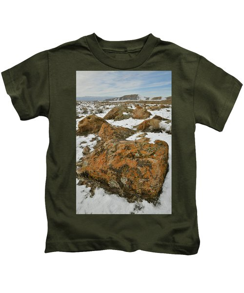 The Many Colors Of The Book Cliffs Kids T-Shirt