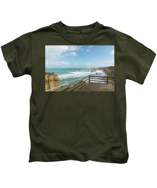 Twelve Apostles Sea Rocks Kids T-Shirt