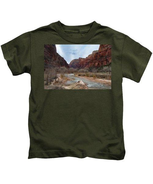 Zion Canyon Kids T-Shirt