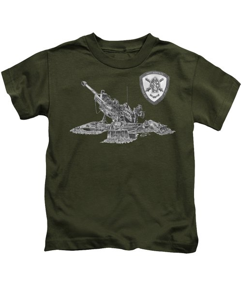 10th Marines 777 Kids T-Shirt