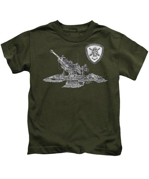 10th Marines 777 Kids T-Shirt