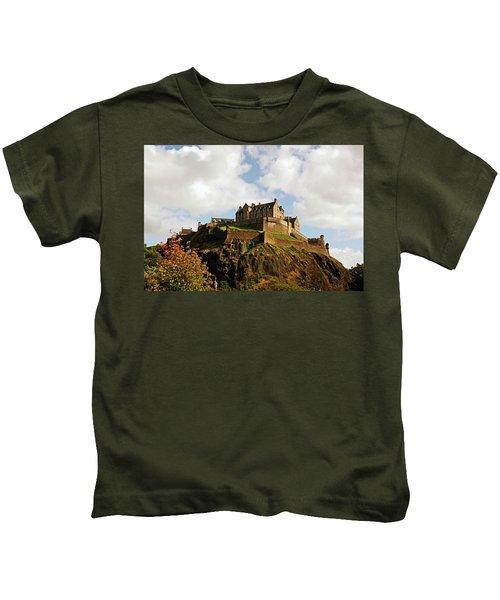 19/08/13 Edinburgh, The Castle. Kids T-Shirt
