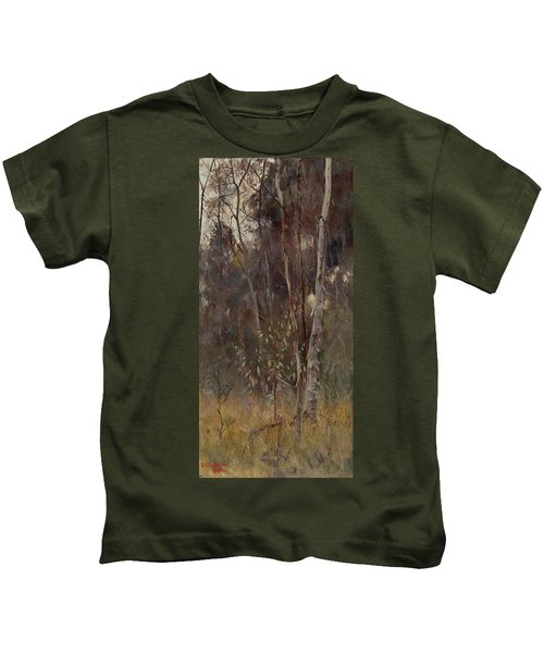 At The Falling Of The Year Kids T-Shirt