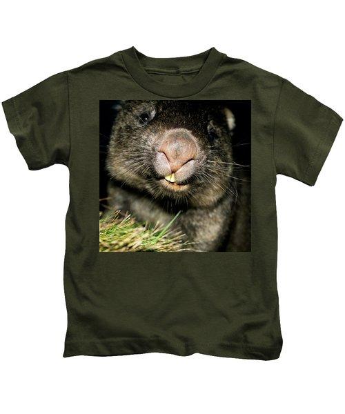 Wombat At Night Kids T-Shirt