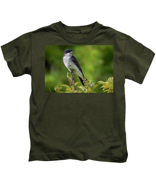 Eastern Kingbird  Kids T-Shirt