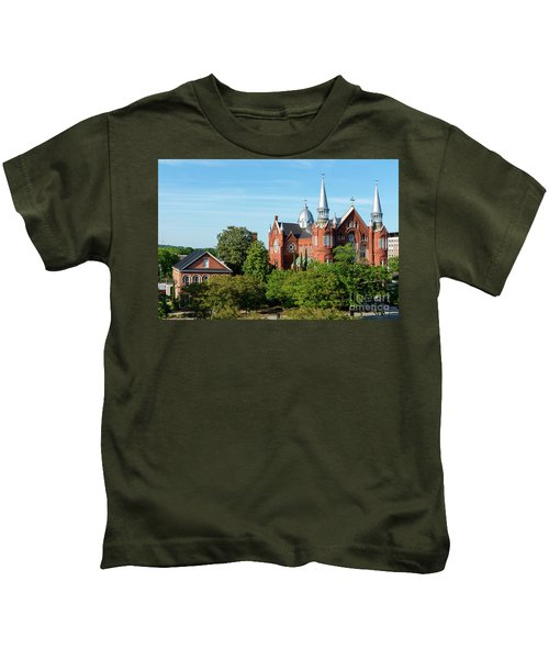 Sacred Heart Cultural Center - Augusta Ga Kids T-Shirt