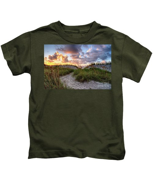 48th Ave. Sunrise North Myrtle Beach Kids T-Shirt