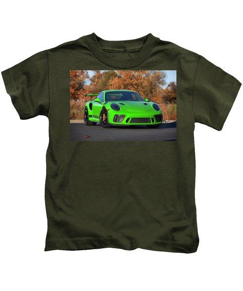 #porsche 911 #gt3rs #print Kids T-Shirt