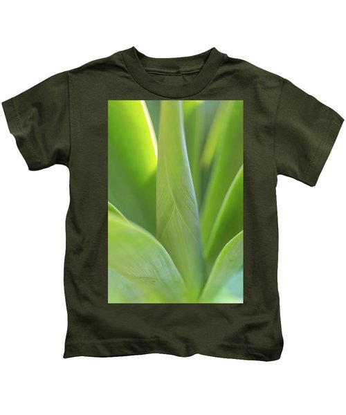 A Bouquet Of Leaves Kids T-Shirt