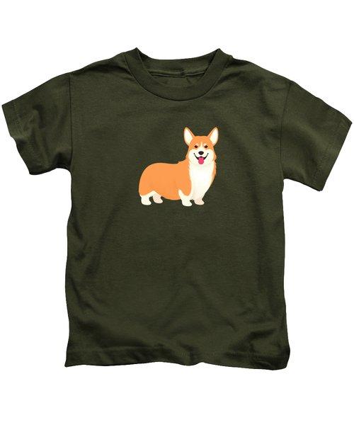 A Corgi Makes A House A Home Kids T-Shirt