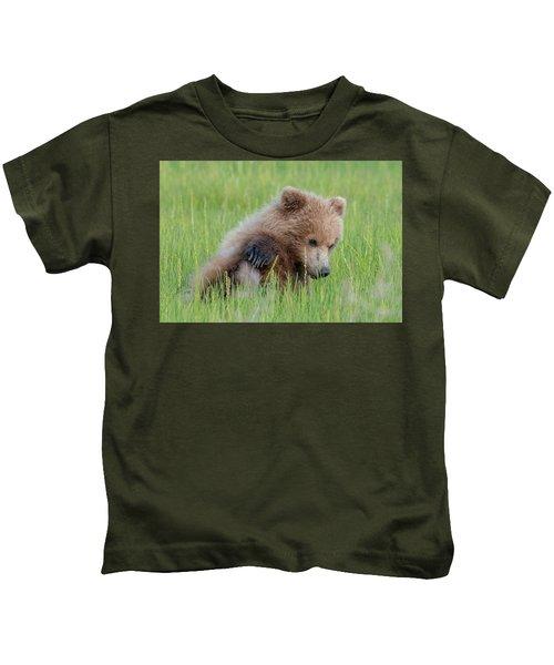 A Coy Cub Kids T-Shirt