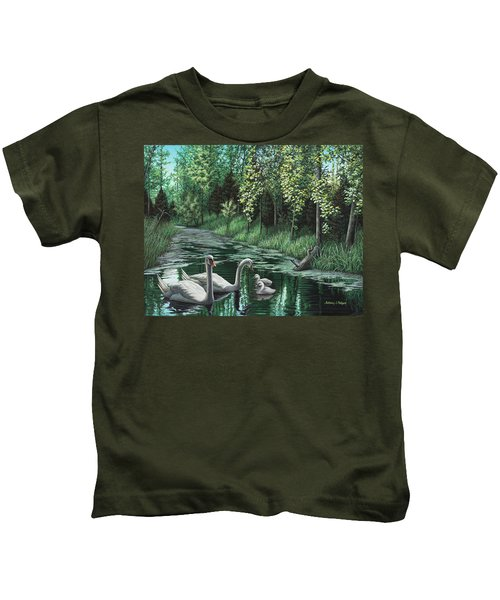 A Day Out Kids T-Shirt