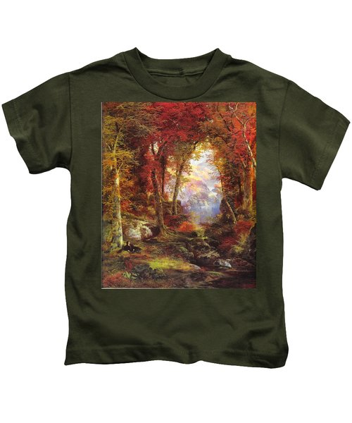 Under The Trees Kids T-Shirt