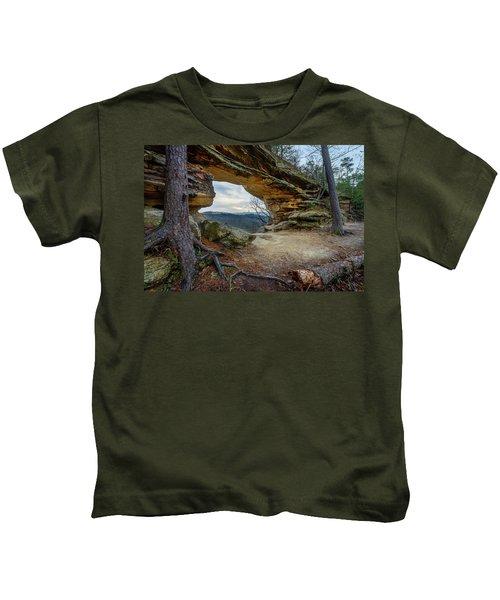 A Portal Through Time Kids T-Shirt
