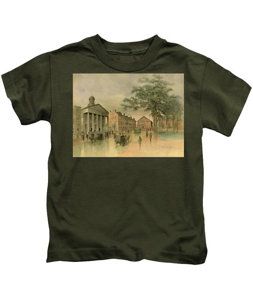 A Southwestern View Of Washington Square Kids T-Shirt
