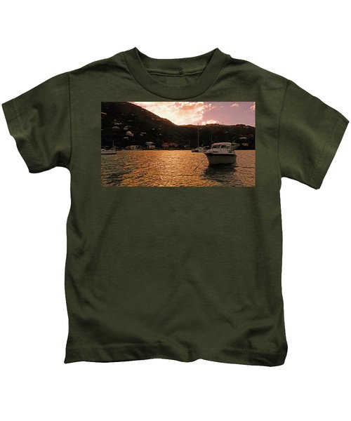 Abstractions Of Coral Bay Kids T-Shirt