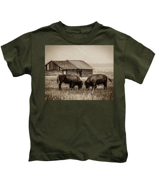 Age Old Conflict Kids T-Shirt