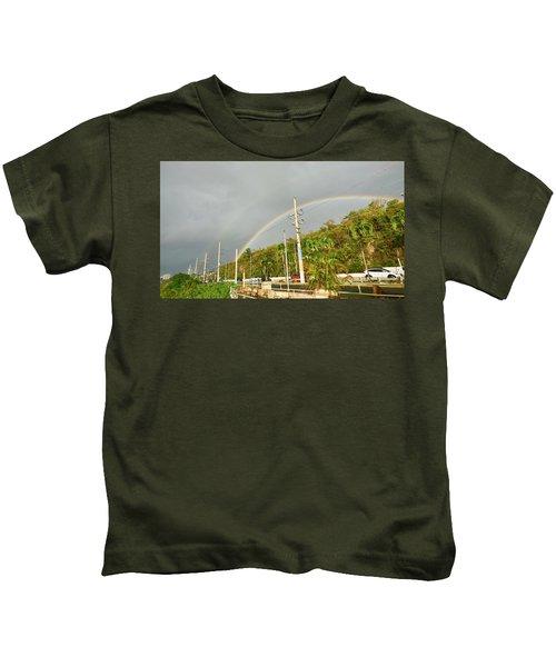 Aguadilla Rainbow Kids T-Shirt