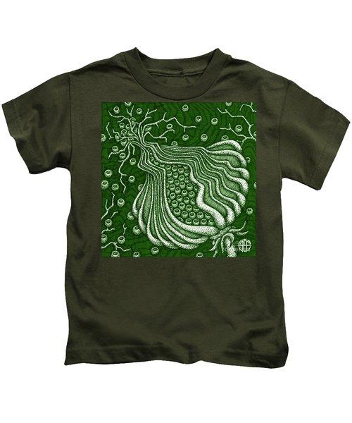 Alien Bloom 5 Kids T-Shirt