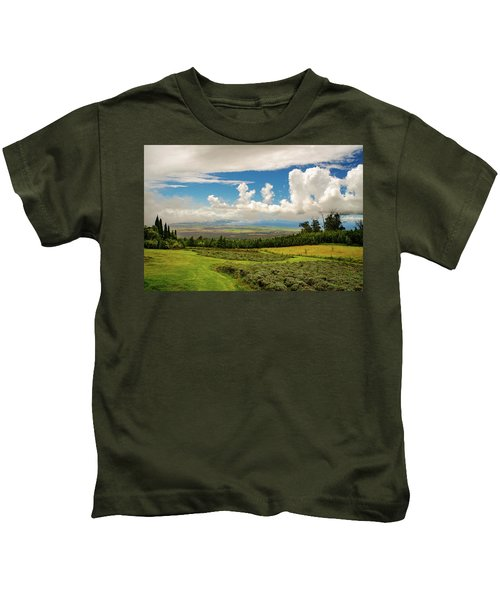 Alii Kula Lavender Farm Kids T-Shirt