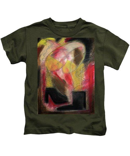 Angel At The Beach Kids T-Shirt