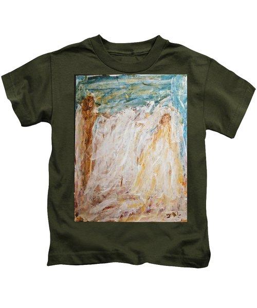 Angels Of Peace Kids T-Shirt