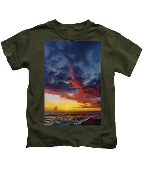 Another Colorful Sky Kids T-Shirt