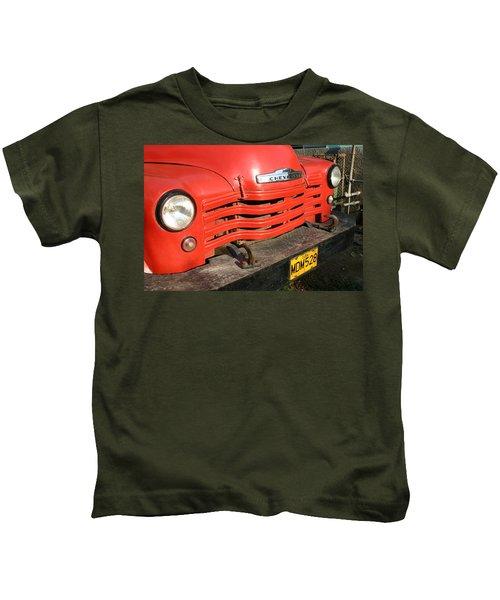 Antique Truck Red Cuba 11300502 Kids T-Shirt