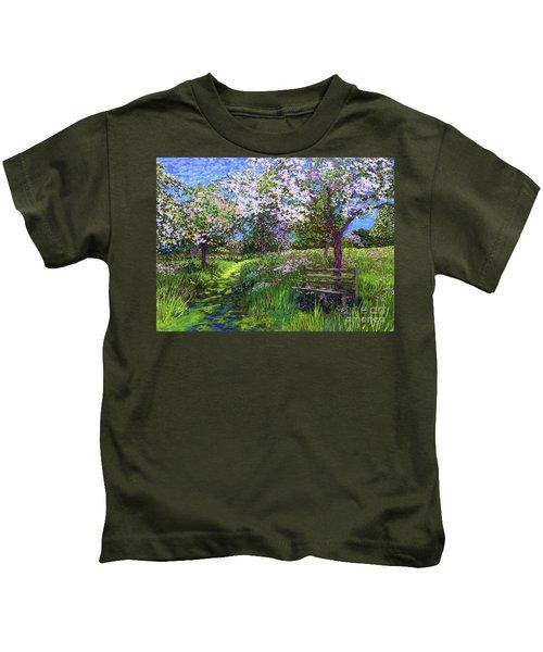 Apple Blossom Trees Kids T-Shirt